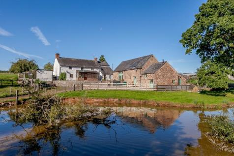 Upper Tal-Y-Fan Farm, Dingestow, Monmouth, Monmouthshire. 5 bedroom detached house for sale