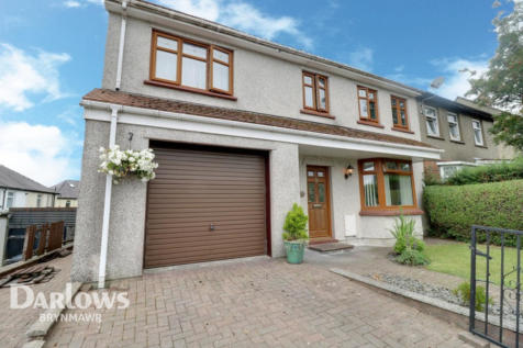 Badminton Grove, Ebbw Vale. 4 bedroom semi-detached house for sale