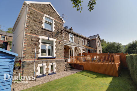 Castle Street, Abertillery. 4 bedroom semi-detached house for sale