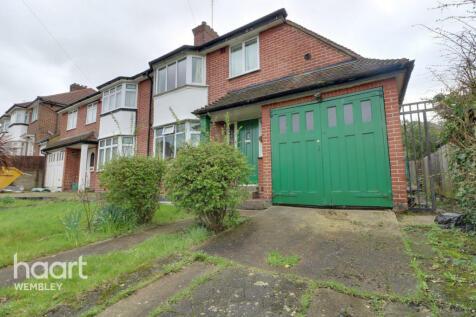 West Hill, Wembley. 3 bedroom semi-detached house