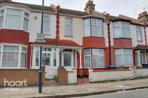 Westbury Avenue, Wembley. 3 bedroom terraced house