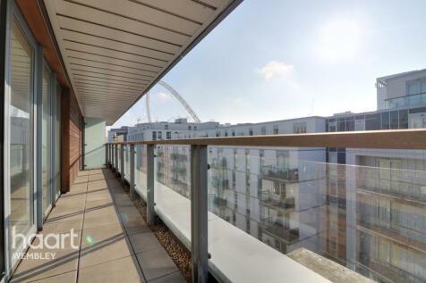 Empire Way, Wembley. 3 bedroom apartment