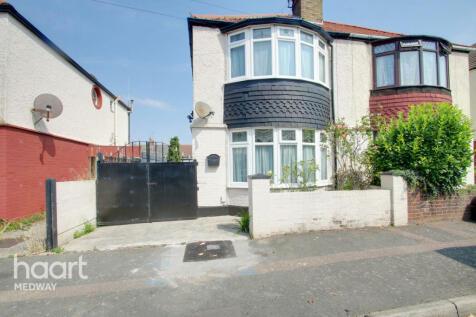 Larkfield Avenue, Gillingham. 2 bedroom semi-detached house