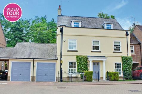 Otterbourne Walk, Sherfield Park, Basingstoke RG27 0SE. 5 bedroom detached house
