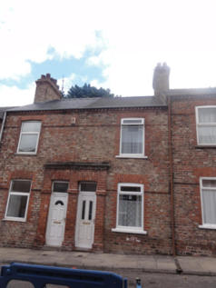 Norman Street, Hull Road. 3 bedroom terraced house