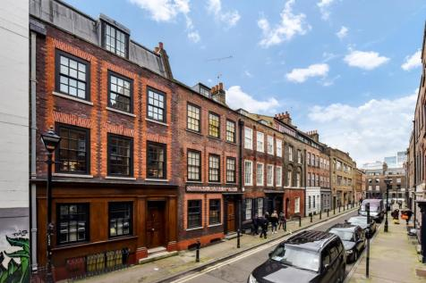 Princelet Street, London, E1. 4 bedroom town house
