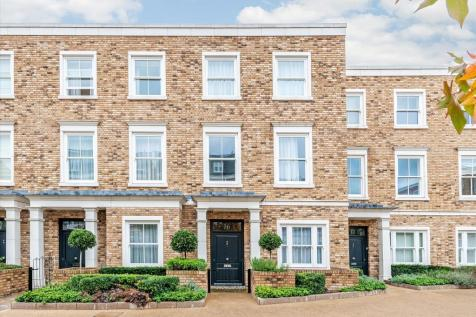 Palladian Gardens, Chiswick, London, W4. 4 bedroom town house for sale