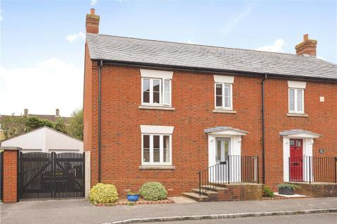 Bede Street, Sherborne, Dorset. 3 bedroom semi-detached house