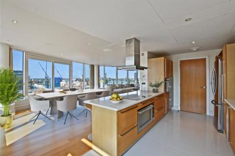 Kingfisher House, Juniper Drive, London, SW18. 4 bedroom flat for sale