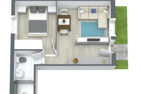SOVEREIGN COURT, DERBY STREET, ORMSKIRK. 2 bedroom flat