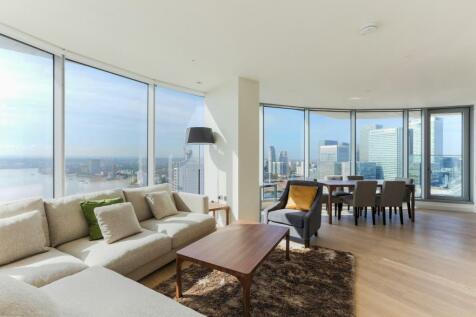 Charrington Tower, New Providence Wharf, London, E14. 3 bedroom apartment for sale