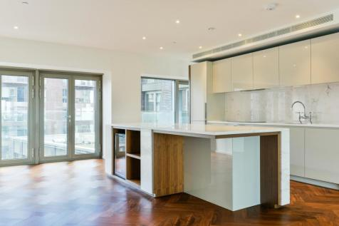 Capital Building, Embassy Gardens, London, SW11. 3 bedroom apartment