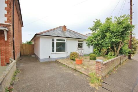 Alexandra Road, Lower Parkstone, Poole. 2 bedroom bungalow