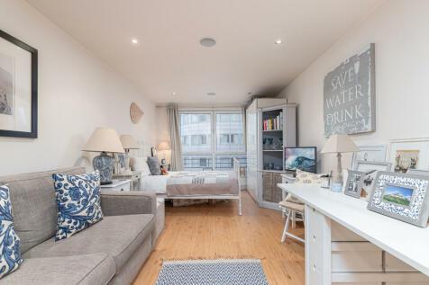 Octavia House, Imperial Wharf. Studio flat for sale