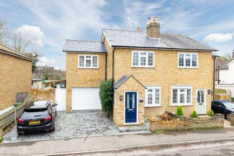 Thistlecroft Road, Hersham, Surrey, KT12. 3 bedroom semi-detached house for sale