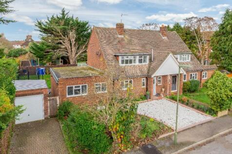 Thrupps Lane, Hersham Village, Surrey, KT12. 3 bedroom semi-detached house for sale