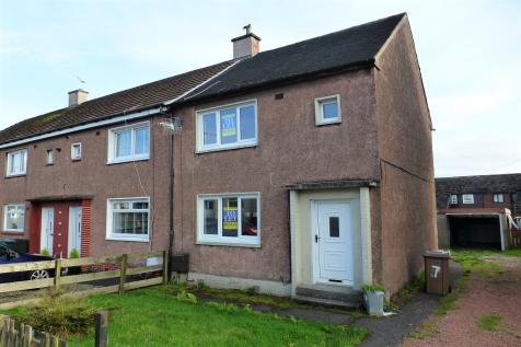 Inverkip Drive, Shotts, Lanarkshire, ML7. 2 bedroom end of terrace house