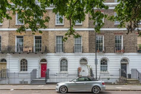 Wilmington Square, Finsbury, London, WC1X. 3 bedroom maisonette