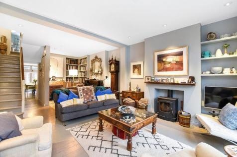 Western Terrace, Chiswick Mall, W6. 5 bedroom house for sale