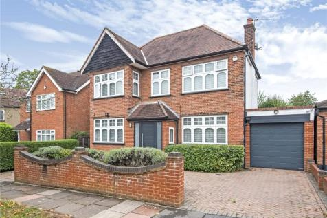 Croft Gardens, Ruislip, Middlesex, HA4. 4 bedroom detached house for sale