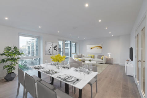 Liberty House, Battersea Reach. 3 bedroom apartment for sale