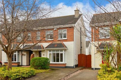 12 Moy Glas Road, Lucan, Co Dublin, K78 R851. 3 bedroom semi-detached house for sale