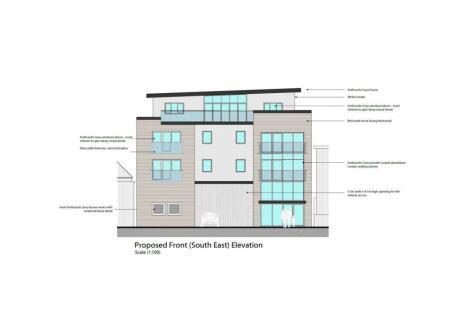 Lagland Street, Poole. 2 bedroom penthouse