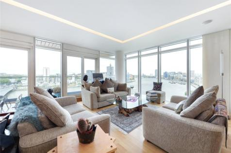 Ascensis Tower, Juniper Drive, Battersea Reach, Battersea, London, SW18. 3 bedroom apartment for sale