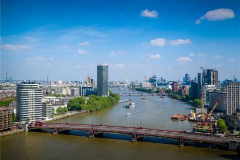The Tower, 1 St George Wharf, Vauxhall, London, SW8. 3 bedroom apartment for sale