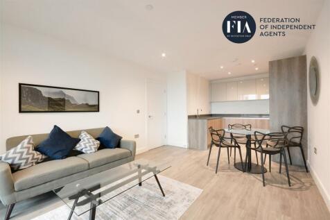 Wheatstone House, Chiswick High Road, Chiswick. 1 bedroom apartment