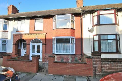 King Edward Road, Abington, Northampton. 3 bedroom terraced house for sale