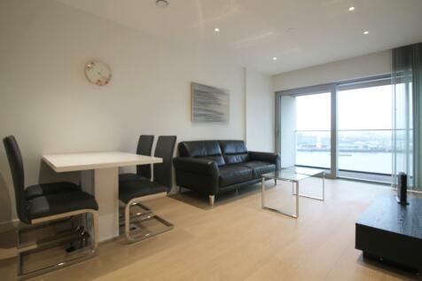 No 1 Upper Riverside, Greenwich Peninsula, Greenwich SE10. 1 bedroom apartment