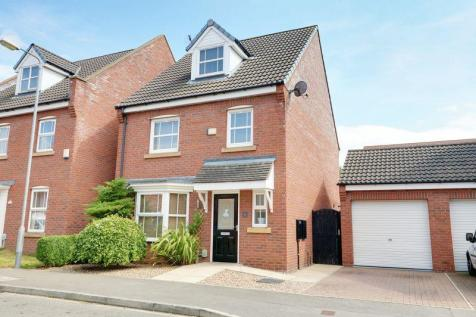Hanover Drive, Brough. 4 bedroom detached house