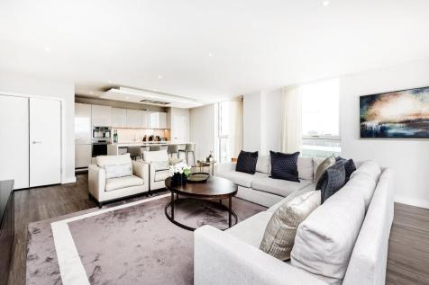 Pinto Tower Apartments, Wandsworth Road, London, SW8. 3 bedroom flat for sale