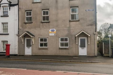 50c Well Street, Ruthin. 1 bedroom flat