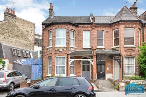 Barrington Road, Crouch End, London, N8. 4 bedroom end of terrace house for sale