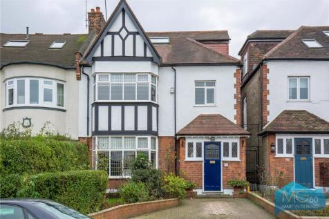 Cranley Gardens, Muswell Hill, London, N10. 5 bedroom semi-detached house for sale