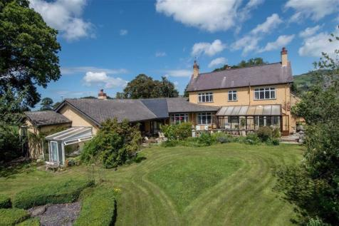 Llanychan, Ruthin, Ruthin. 4 bedroom detached house for sale