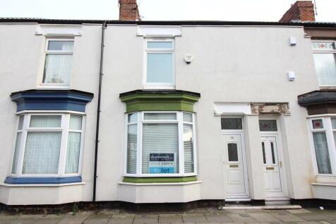 Romney Street, Middlesbrough. 2 bedroom terraced house