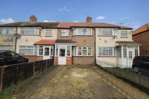 Woodhouse Avenue, Greenford. 3 bedroom terraced house for sale