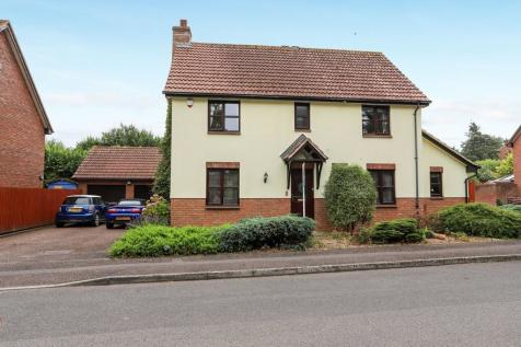 Monkerton Drive, Exeter. 4 bedroom detached house