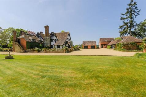 Harrow Lane, Himbleton, Droitwich Spa, Worcestershire. 5 bedroom country house