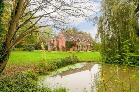 Canon Frome, Ledbury, Herefordshire. 5 bedroom detached house for sale