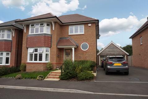 Juniper Road, Shrewsbury, SY1. 3 bedroom detached house