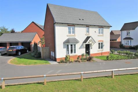St. Peters Field, Hereford, HR1. 4 bedroom detached house