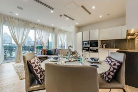 Riverwalk Apartments- 5 Central Avenue, Fulham, SW6. 2 bedroom duplex