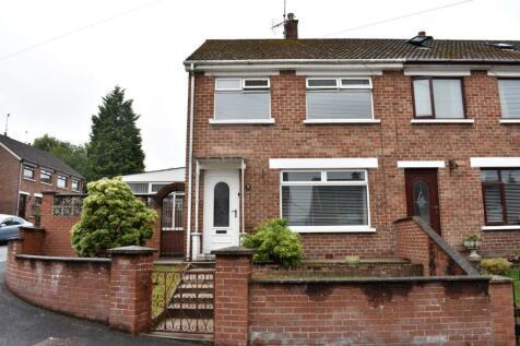 Brookvale Rise, Lisburn, BT28. 3 bedroom end of terrace house for sale
