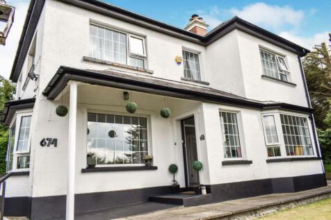 Saintfield Road, Carryduff, BT8. 4 bedroom detached house for sale