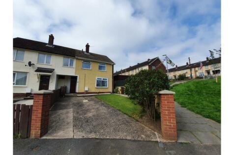 Alder Close, Belfast, BT17. 3 bedroom end of terrace house for sale