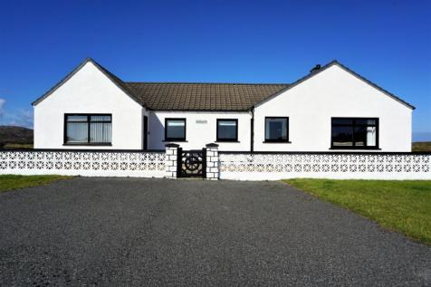 Bruernish, Isle Of Barra, HS9. 4 bedroom detached bungalow